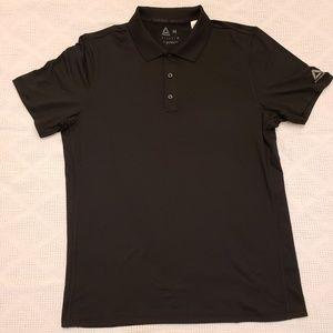 Reebok men's polo shirt medium black